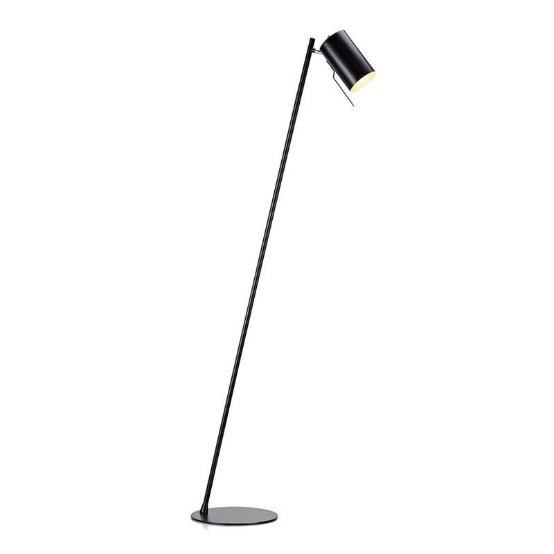 Čierna stojacia lampa Markslöjd Carrie