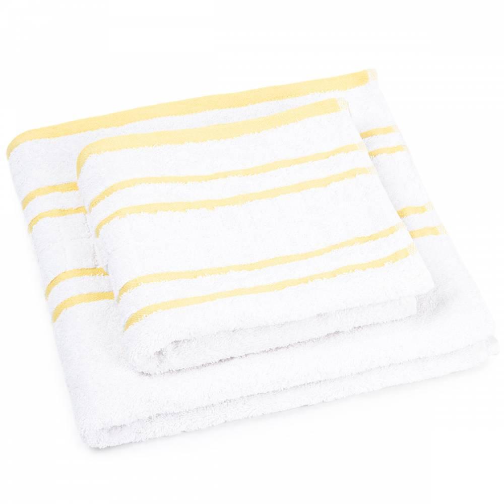 Profod Sada uteráka a osušky Snow oranžová, 50 x 100 cm, 70 x 140 cm