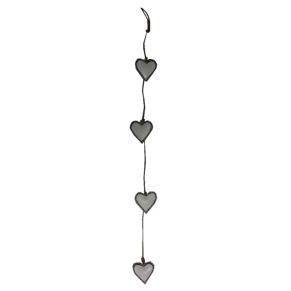 Závesná dekorácia Four Hearts