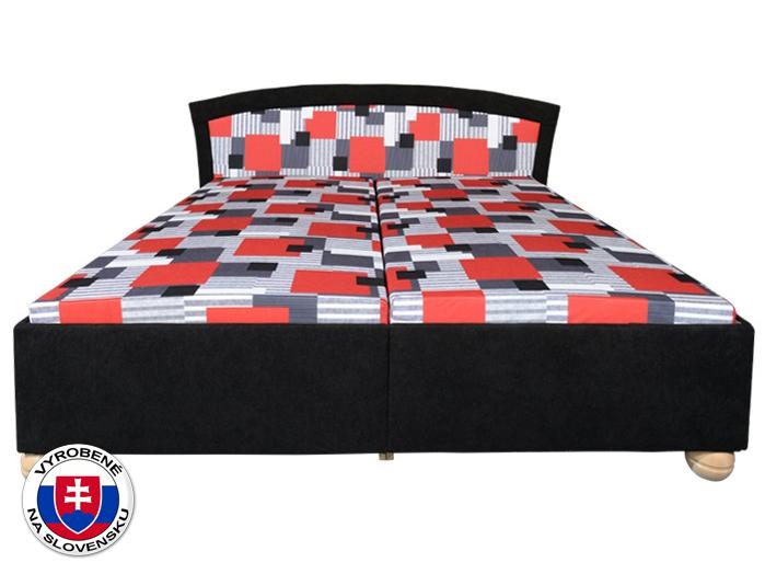 Manželská posteľ 180 cm Roma Lux (s roštami, bez matracov)