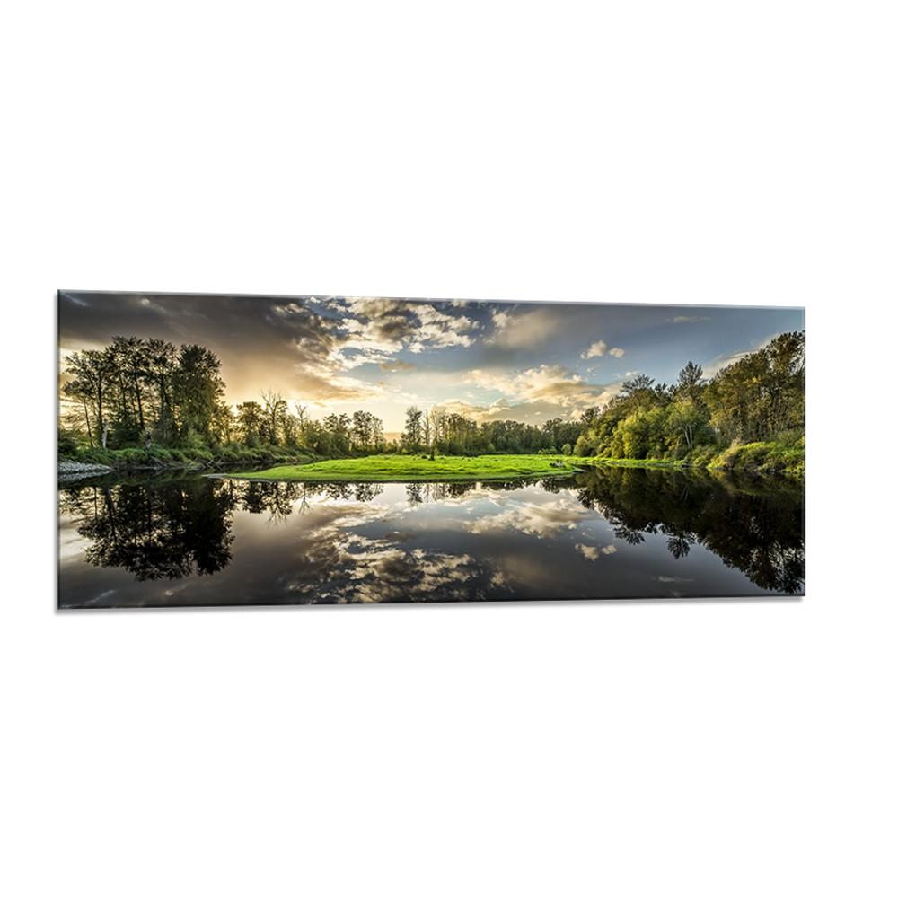 Obraz Styler Glasspik Nature, 50×125 cm