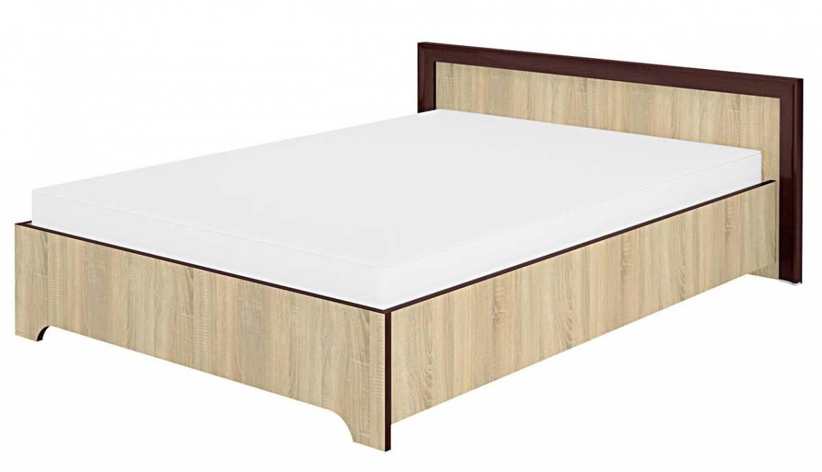 Manželská posteľ 140 cm Oliwier 28 sonoma svetlá