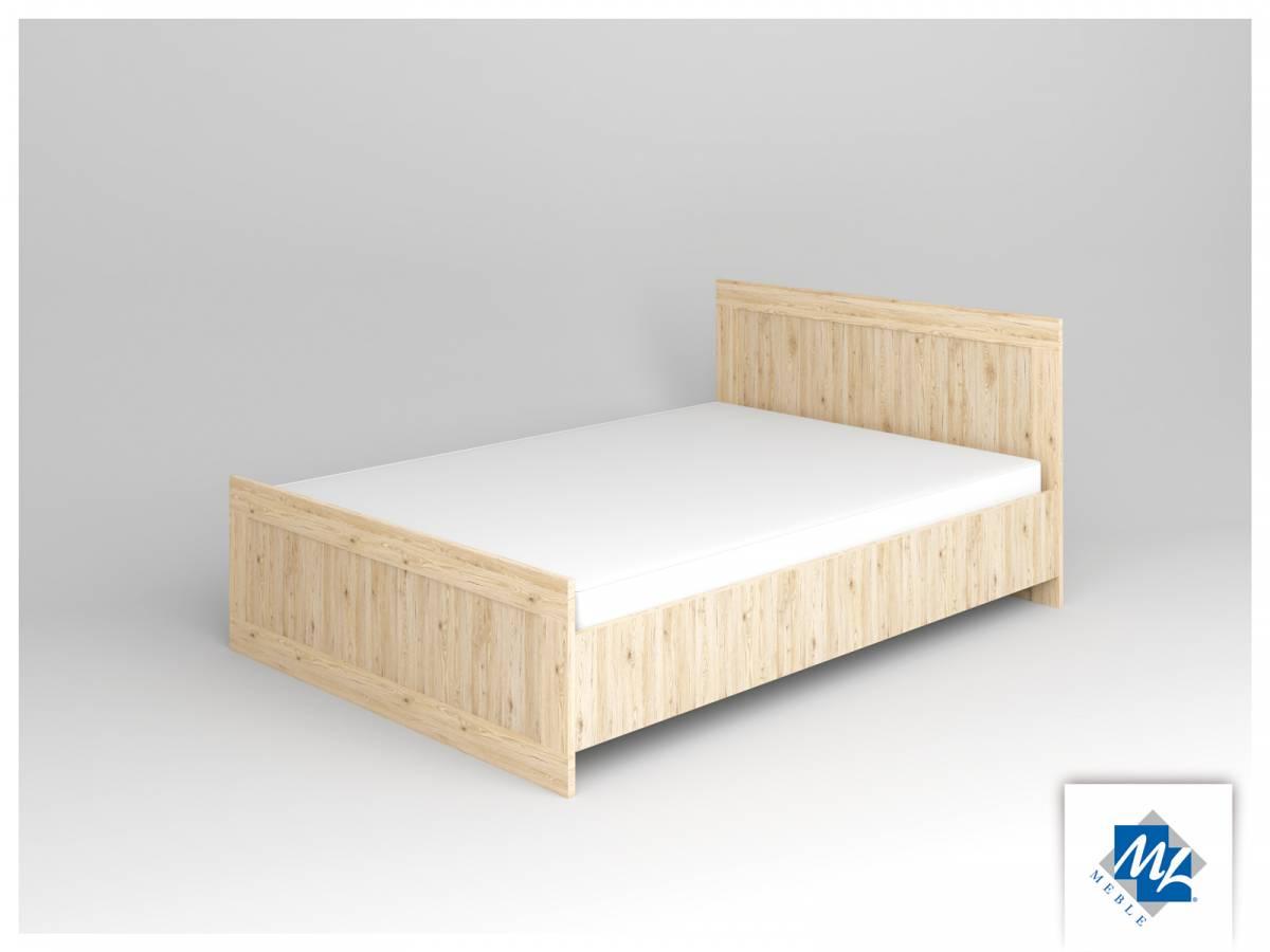 Manželská posteľ 140 cm Modern 15 dub San Remo