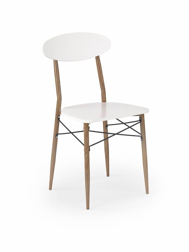 Jedálenská stolička K223 (biela)