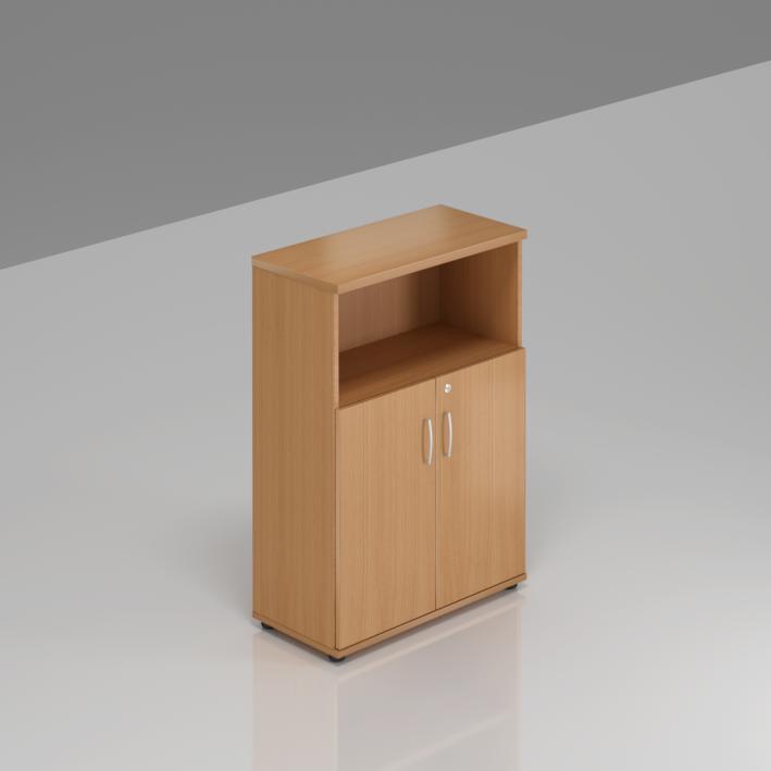 Rauman Kancelárska skriňa Visio, 80x38,5x113 cm, dvere 2/3 S382 11