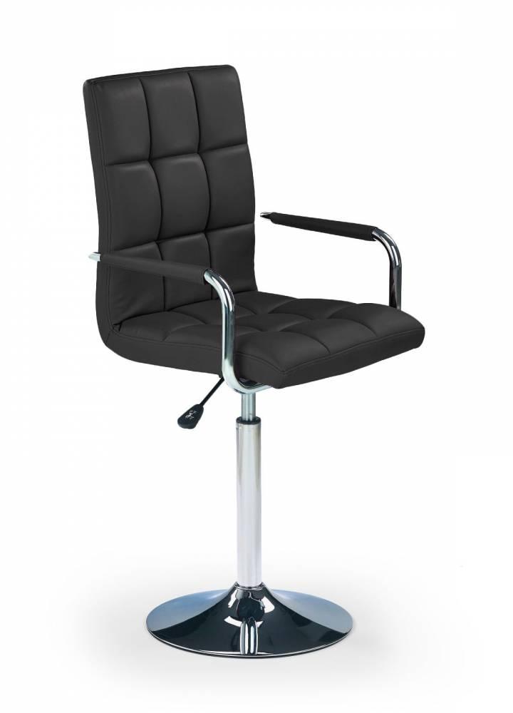 Barová stolička Gonzo čierna