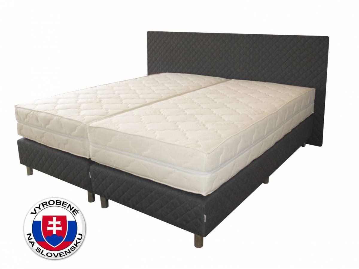 Manželská posteľ 180 cm Benab Sigma Spring Box (s roštami)