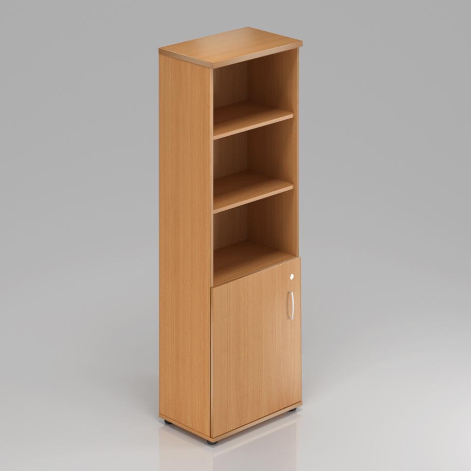 Rauman Kancelárska skriňa Visio, 60x38,5x183,5 cm, dvere 2/5 S562 11