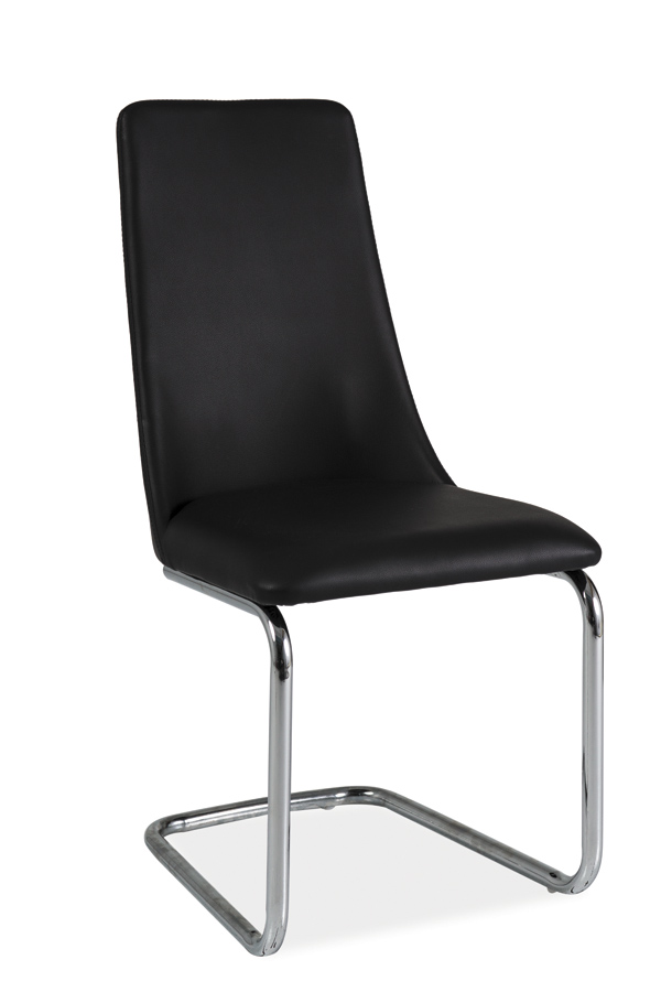 HK-255 jedálenská stolička, čierna