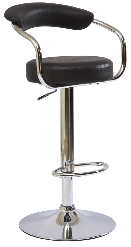 Barová stolička C-231 Krokus čierna