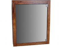 Furniture nábytok  Masívne zrkadlo z Palisanderu  Júsef  65x15x78 cm