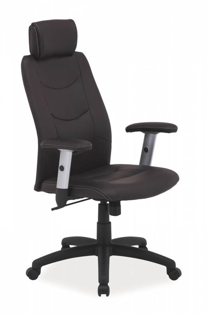 Kancelárske kreslo Q-119 / hnedá