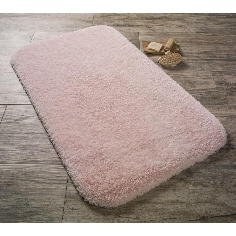 Ružová predložka do kúpeľne Confetti Bathmats Miami, 57x100cm
