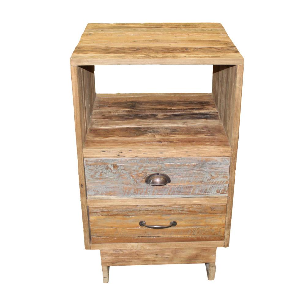 Komoda s 2 zásuvkami z teakového dreva HSM Collection Baliaga