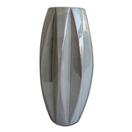 StarDeco Keramická perleťová váza, 33,5 cm