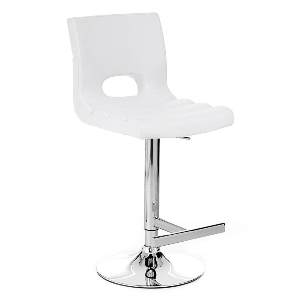 Biela barová stolička Tomasucci Sem