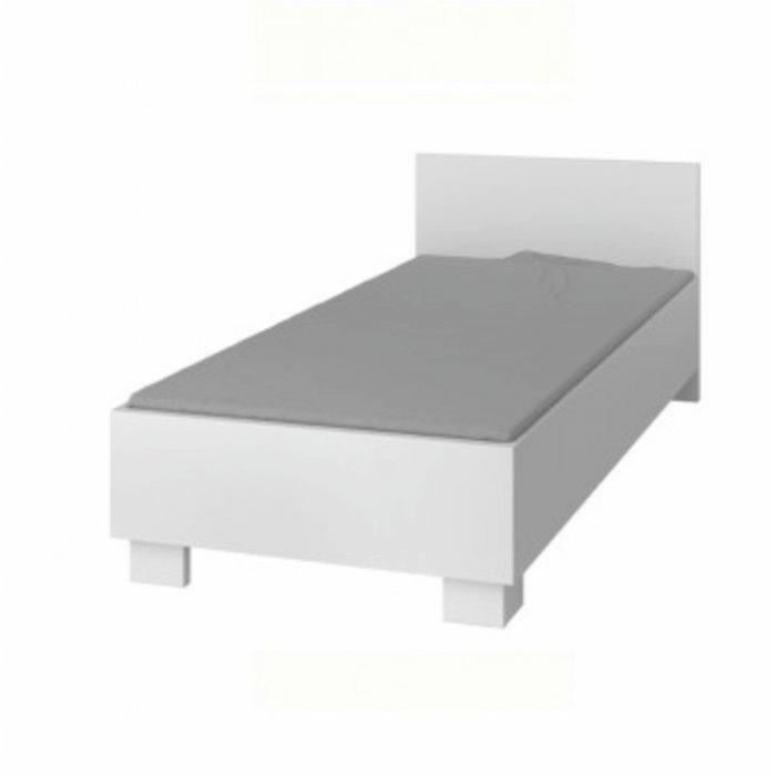 TEMPO KONDELA SVEND TYP 36 90 posteľ - biela