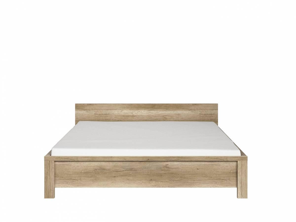 Manželská posteľ 160 cm Kaspian LOZ/160 (dub monument)