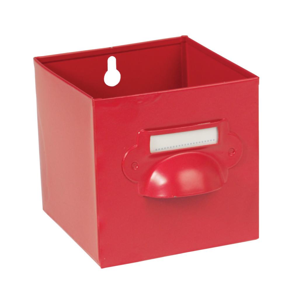Červená úložná krabica Rex London Forties