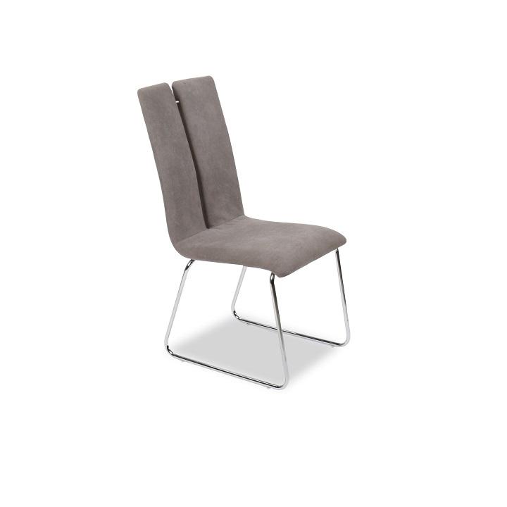 Jedálenská stolička Mert (sivá)