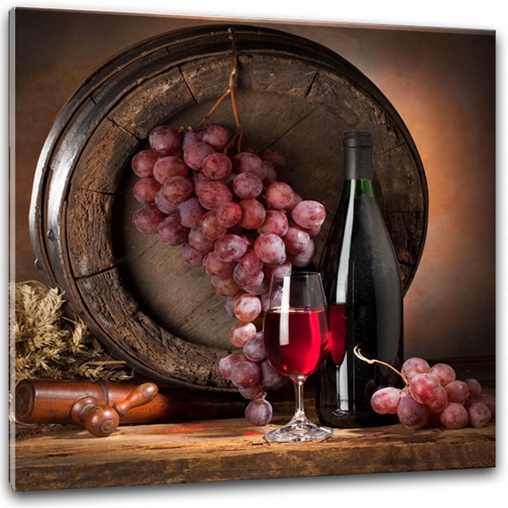 Obraz Styler Glasspik Wine IV, 30×30 cm