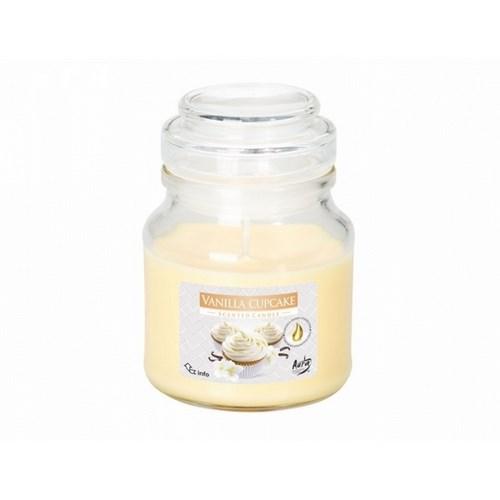 Vonná sviečka v skle Vanilkový Cupcake, 120 g