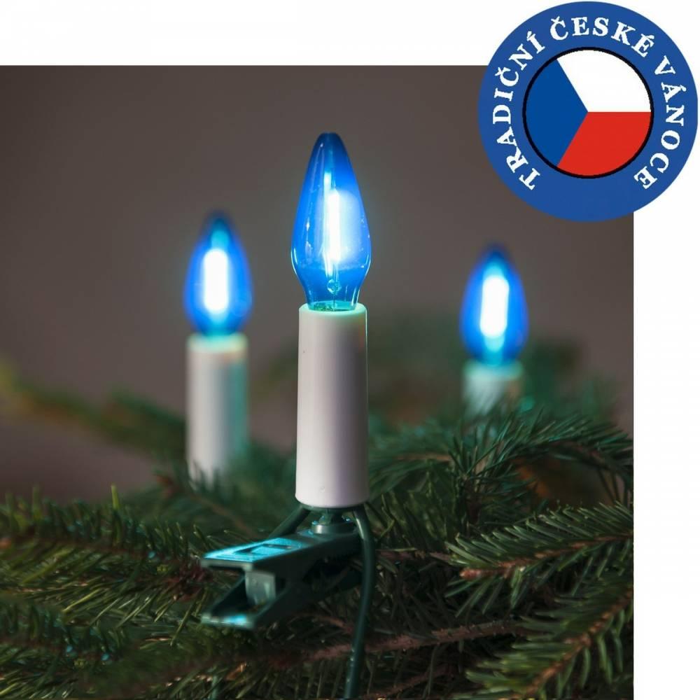 Súprava Felicia LED Filament modrá SV-16, 16 žiaroviek