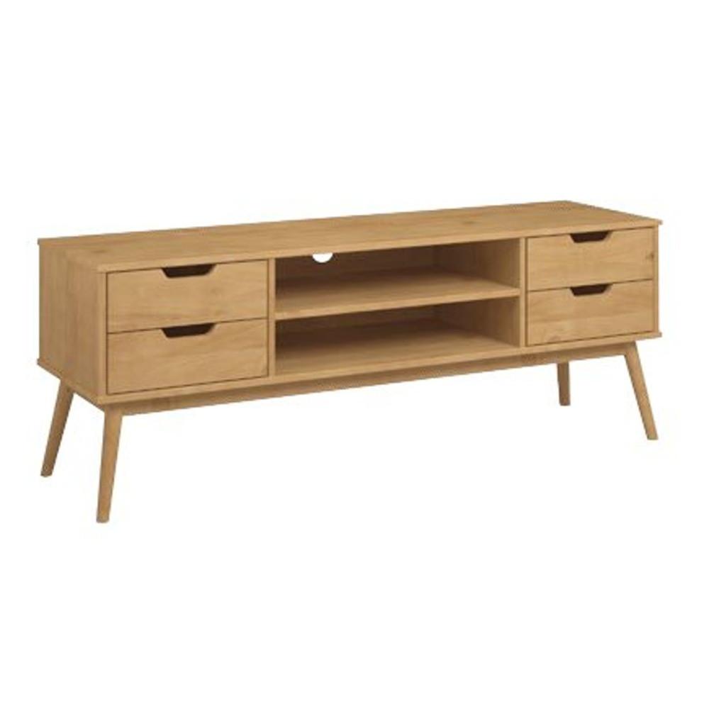 TV stolík z borovicového dreva SOB Van
