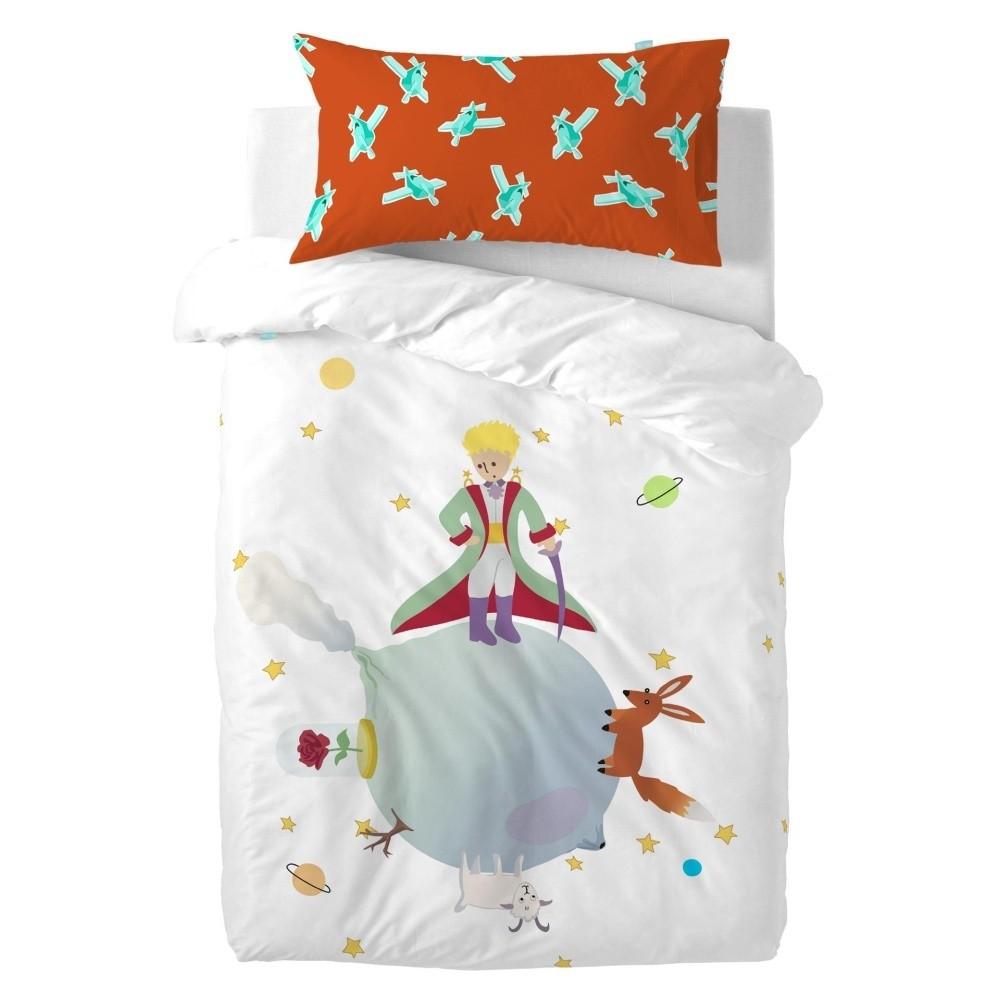 Detské bavlnené obliečky na paplón a vankúš Mr. Fox Little Prince, 115×145cm