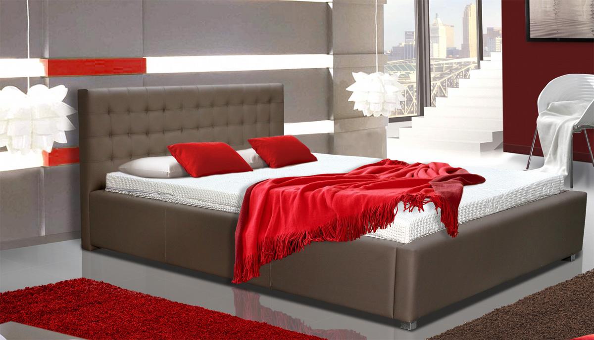 LUBICA V manželská posteľ s úložným priestorom 160 x 200 cm