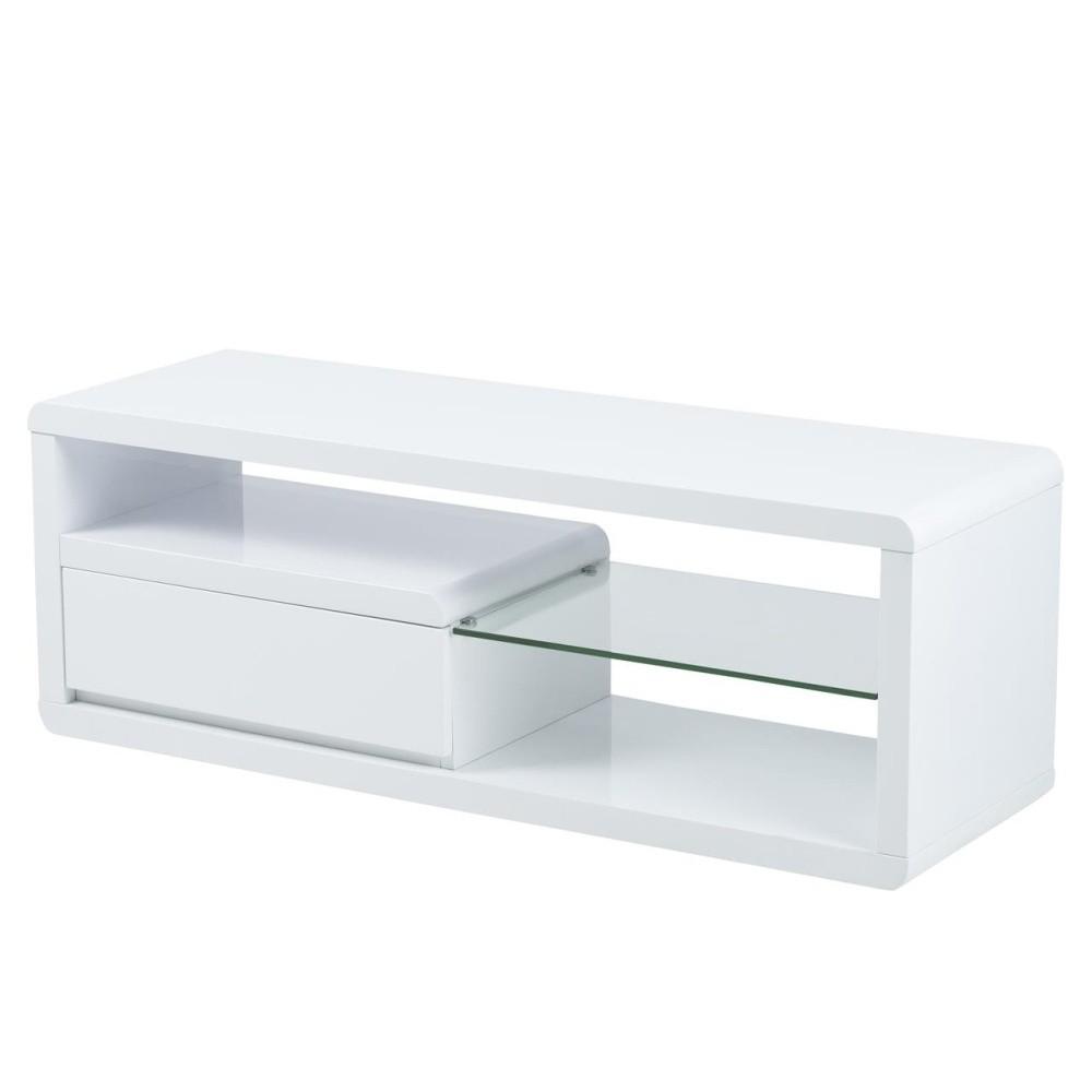TV stolík so sklenenou poličkou Actona Eran