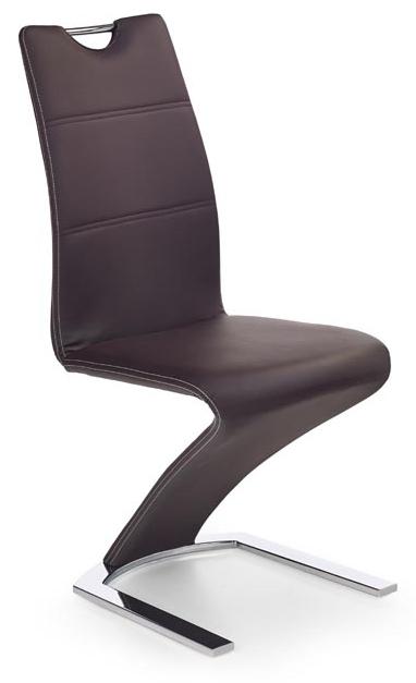 Jedálenská stolička K188 hnedá
