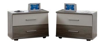 Nočný stolík Jenny 698 (2 ks.) CASA-4210