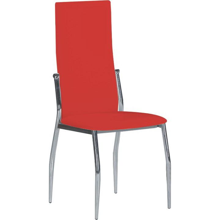 Jedálenská stolička Solana červená