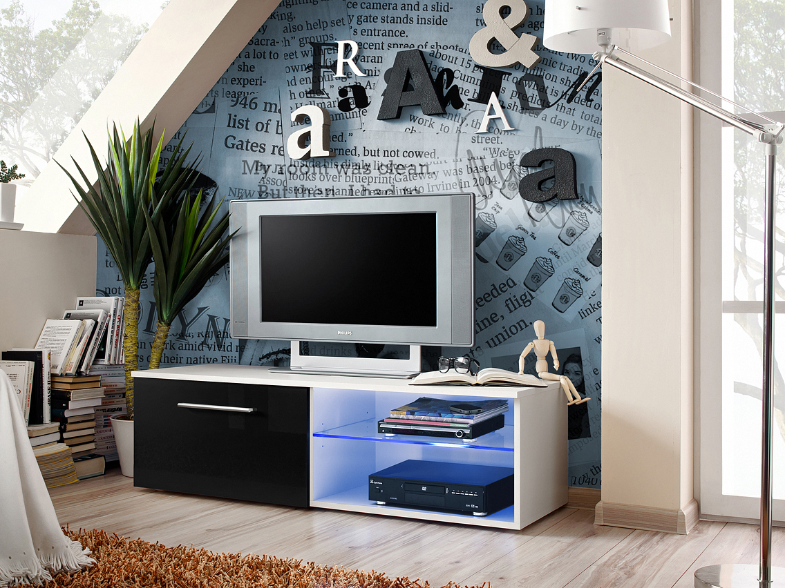 TV stolík/skrínka Bono IV 25 WSH B4