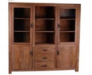 Furniture nábytok  Masívna vitrína z Palisanderu  Maksúd  180x45x200 cm