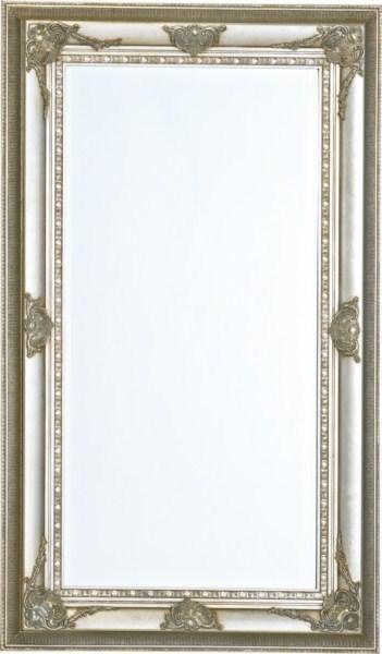 Barokové zrkadlo MALO - strieborná
