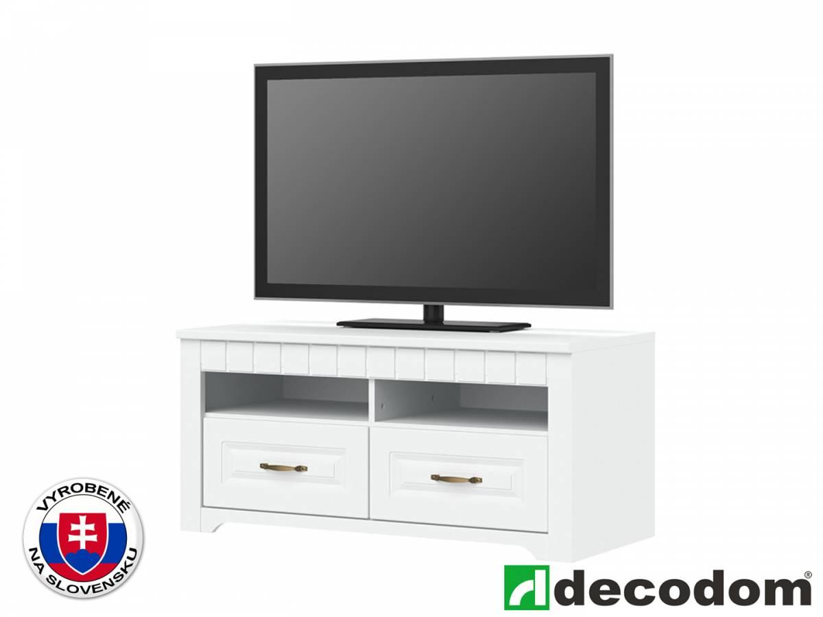 TV stolík/skrinka Decodom Lirot Typ 31 (biela arctic)