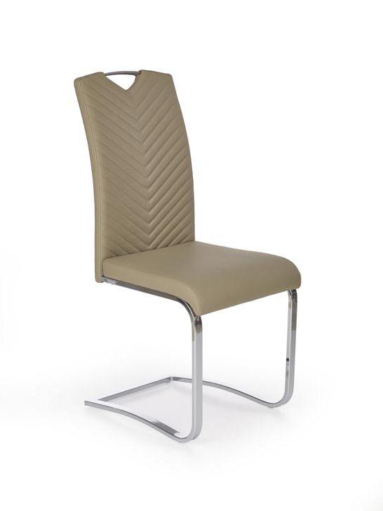 Jedálenská stolička K239 (cappuccino)