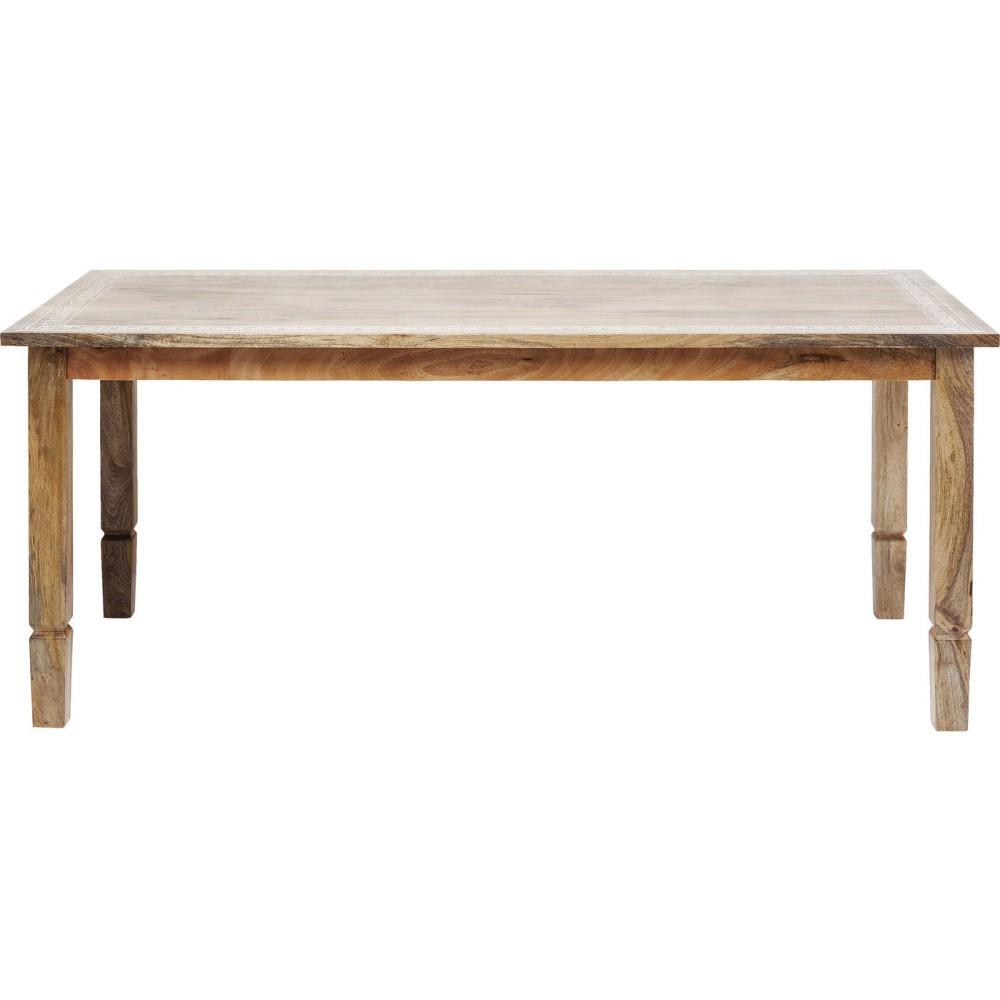 Jedálenský stôl z mangového dreva Kare Design Desert Queen, 140 x 70 cm