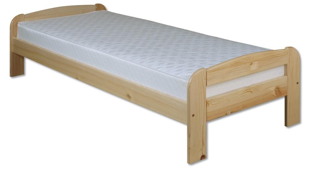 Jednolôžková posteľ 90 cm LK 122 (masív)