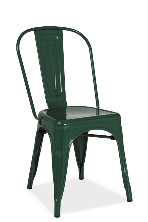 Jedálenská stolička Loft (zelená)