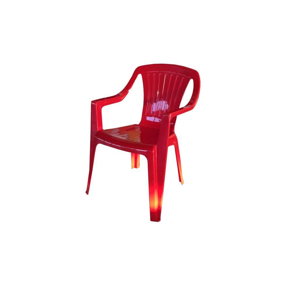 Detská stolička JERRY červená