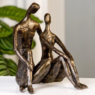 Socha DATE - bronzová