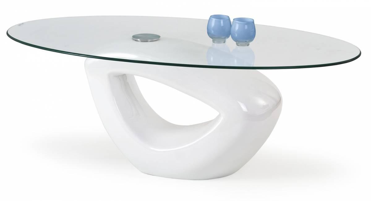 Konferenčný stolík Jasmin biela