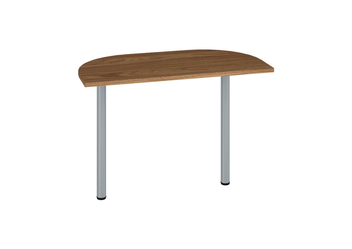 Prídavný kancelársky stôl OPTIMAL 18 / orech prírodný