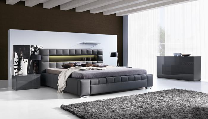 Čalúnená posteľ CAESAR bez UP, 140x200 cm