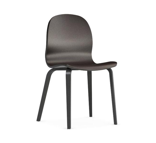 Jedálenská stolička Possi hnedá   Farba: hnedá/šedý wolfram