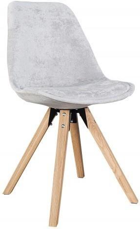 Stolička SKANIA - sivá
