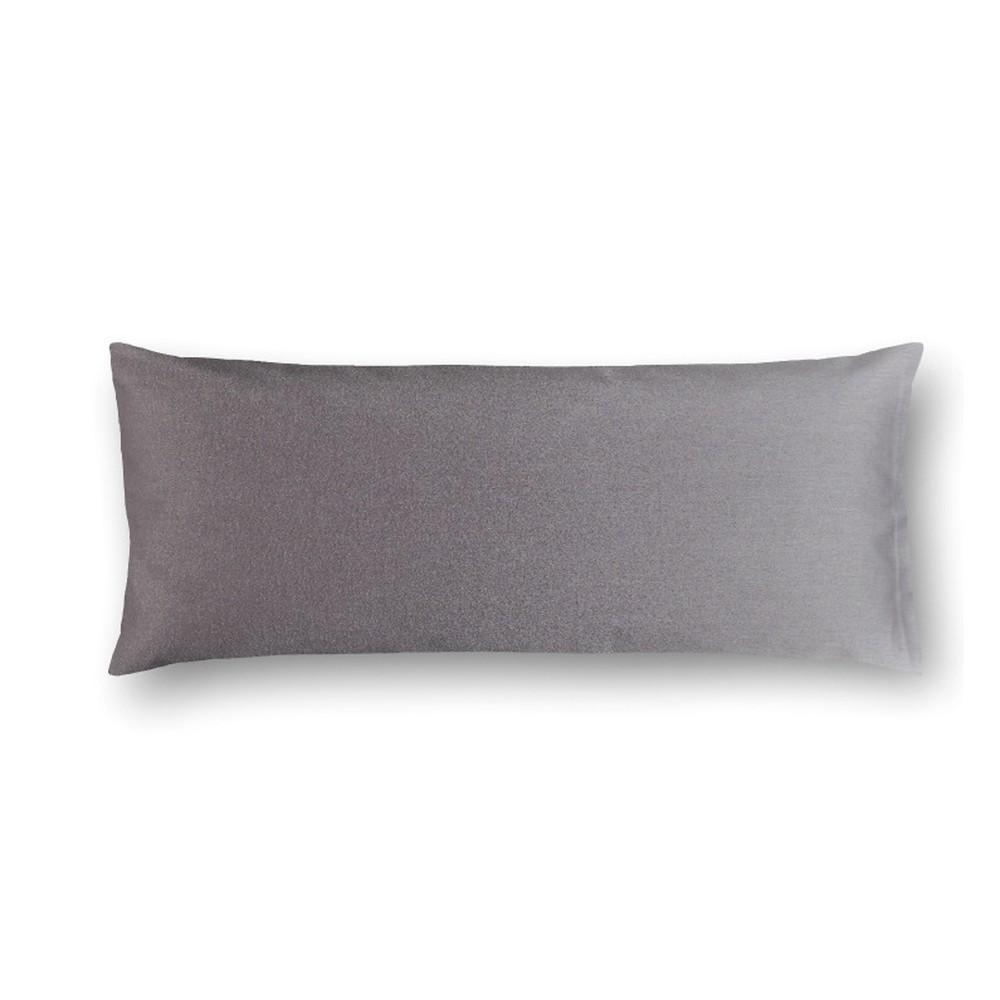 Sivý damašková obliečka na vankúš Casa Di Bassi Basic, 40×80 cm
